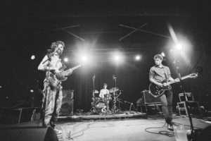 Charlie, Jack & Harry onstage at Trinity Centre Bristol